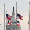 Flags at half-staff Memorial Day morning May 25