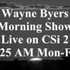 Wayne Byers Show – Morning – Feb 12