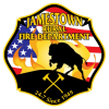 Fire destroys shed in rural Jamestown, Saturday