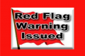 Red Flag Warning Tues. Cancelled