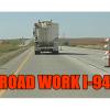 Construction US 52, north of Buchanan