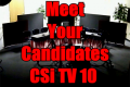 Meet Your Candidates Online at CSiNewsNow