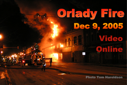 This Day In History: Dec 9, 2005 Orlady Fire Video