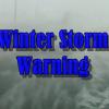 Winter Storm WARNING Fri am thru Sat am