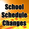 Revised end of school schedule