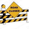 8th Av SW closure Mon Aug 3,  Applebee's to gravel road