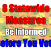 Be Informed on the 8 Statewide Measures