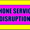 Phone Service Disrupted Jamestown
