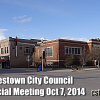 Special Council meeting at library Video Online