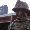 Firefighter Monument dedication photos