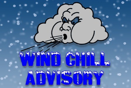 Wind Chill Advisory to Noon Wed.