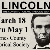 Lincoln Civil War exhibit ends May 1