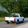 Mosquito spraying, NE Jamestown, August 21
