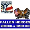 N.D. Patriot Guard Ride, activities, Aug 17, 18