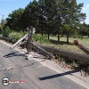 2 Power poles down NW Jmst, causes outage
