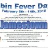 Jamestown Cabin Fever Days Feb 5-14