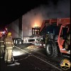 Semi fire on the Highway 52 Bypass