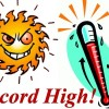 No record weekend high temp for Jamestown