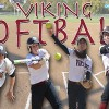 Viking Softball in doubleheader win, Friday