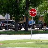 Police called to skirmish, Tues. in bank lot