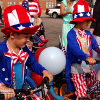 Kiddies Bike Parade July 4 downtown Jamestown