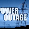 Valley City power outage, Monday evening