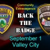 Community Extravaganza – Backing the Badge Sept 1