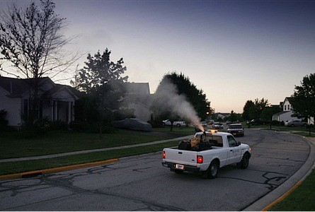 Mosquito fogging planned, Tues evening, Sept 17