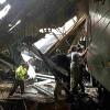 Update  NJ train crashes into station