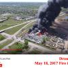 Fire destroys Minot Recycling Center Thursday