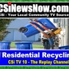 Residential Recycling Info on CSi TV 10