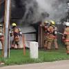 Jamestown garage fire destroys contents Tues