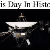 Voyager 1 began its journey – Sept 5, 1977