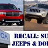 Chrysler, Dodge, Ram, Jeep recalls, cruise control