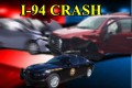 Pickup crash near Valley City, Sunday evening