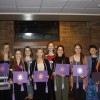 UJ students inducted into Nursing Honor Society