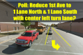 First Ave Road Diet Plan Polls & Video on CSi 10