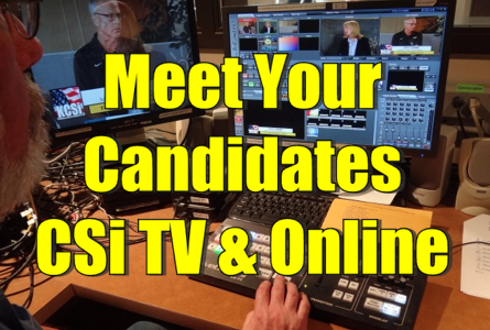 Meet Your Candidates Replay CSi TV 10 & Online