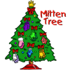 Mitten Tree at the Alfred Dickey Library starts Dec 1