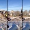 Valley City Powerhouse on Main St demolished