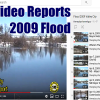 47 Valley City Flood report videos from 2009 Flooding