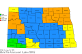 North Dakota Fire Danger Map are online