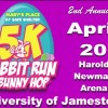 5K Rabbit Run & 3K Bunny Hop April 20
