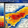 Spring Blizzard for parts North Dakota