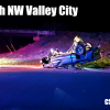 Crash on 12th St NW in Valley City