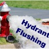 Valley City Fire Department hydrant flushing