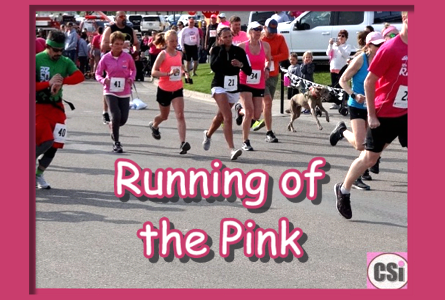 2019 Running of the Pink Video on CSi TV 10