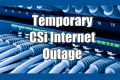 Brief Internet Outage Early Tues work completed