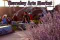 Sun Sets on Downtown Arts Market for season – pixs