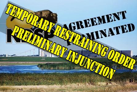 Restraining order at Spiritwood Energy Park